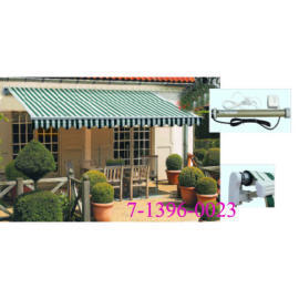 HEAVY AWNING 4.5*2.5M 300G/M2 POLYESTER, PU COATED