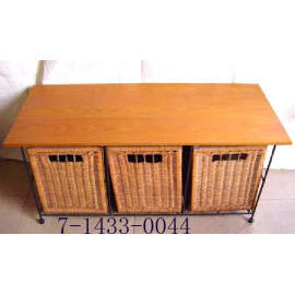 3 DRAWERS TABLE (ТАБЛИЦА 3 ящиками)