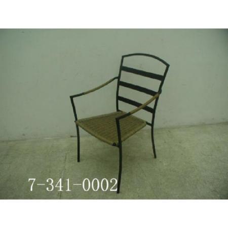 PVC WOVEN GARDEN CHAIR (ПВХ стрейч садовом кресле)