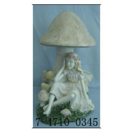 FAIRY WITH MUSHROOM-SOLAR WITH GERMANY PANEL (FAIRY с грибами-СУСО с ГЕРМАНИЯ ПАНЕЛЬ)