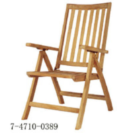 Christoco Folding Recl Arm Chair
