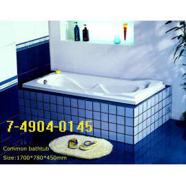 BATHTUB WITHOUT SIDE PANEL