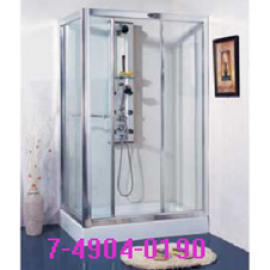 SQUARE SHOWER ROOM CHROME FINISH (ПЛОЩАДЬ душевая комната хромированная отделка)