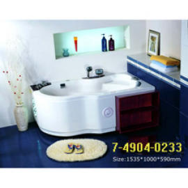 LUXURY DOUBLE MASSAGE BATHTUB