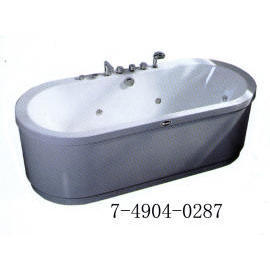 MASSAGE BATHTUB(WITH MARBLE&COMPUTER CONTROLLED-PANEL)