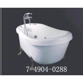 CLASSIC BATHTUB(WITH FAUCET,STAND OF FAUCE, DRAIN, FEET