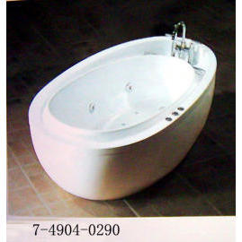 CLASSIC BATHTUB(WITH LUXURY FAUCET,BUBBLE,SYSTEM