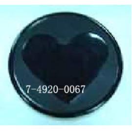 SILICONE CUP Coaster-HEART (SILICONE CUP Coaster-HEART)