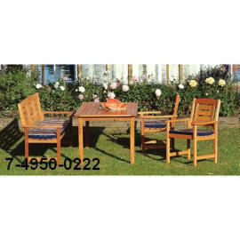 TABLE WITH CHAIR SET (Таблица с председателем SET)