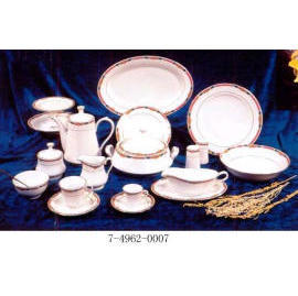 95PCS PORCELAIN DINNER SET (95PCS ФАРФОР Dinner Set)