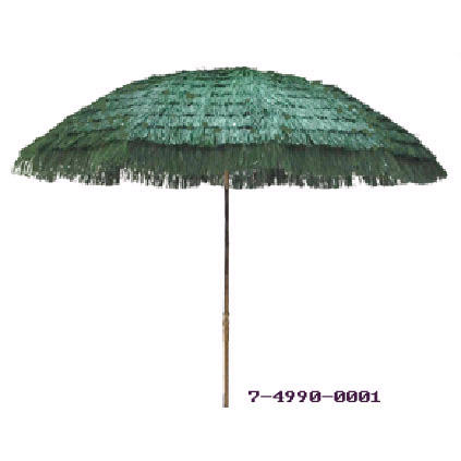 6 FT WOODEN PATIO UMBRELLA
