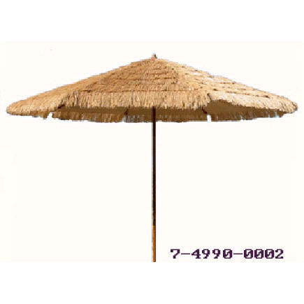 8 FT WOODEN PATIO UMBRELLA