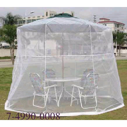 MOSQUITO NET FOR 9   * 8RIBS UMBRELLA USING