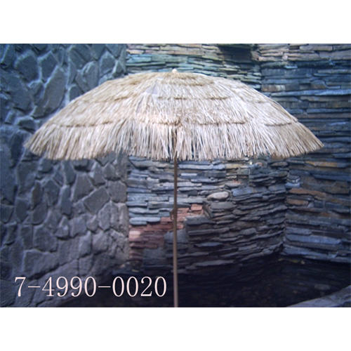 36``*8K STRAW UMBRELLA