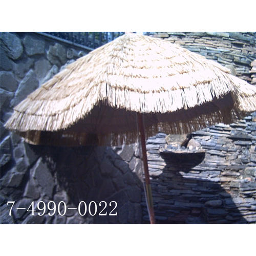 7 1/2*8K STRAW UMBRELLA