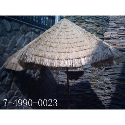 9`*6K STRAW UMBRELLA