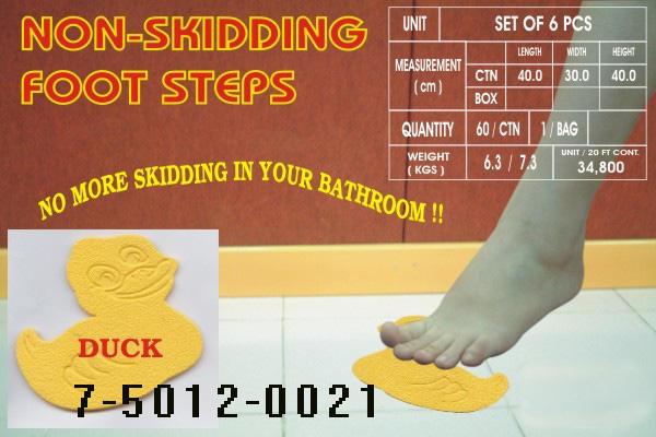 SHOWER NON-SLIP MAT (DUCK DESIGN) SET OF 6 (Душ NON-SLIP MAT (Duck DESIGN) Набор из 6)