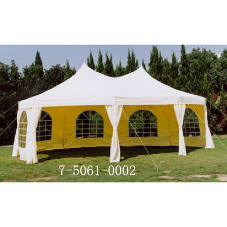 6.8X5M WATER RESISTANT FESTIVAL TENT