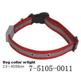 DOG COLLAR W/LIGHT