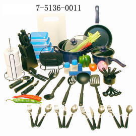 60PCS KITCHENWARE SET (60pcs посуды SET)