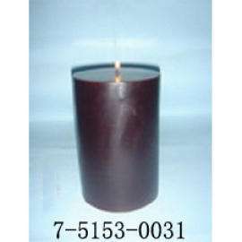 F4*H6    WINE RED CANDLE (  F4 * H6   Wine Red СВЕЧА)