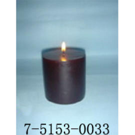 F3*H3    WINE RED CANDLE (  F3 * H3   Wine Red СВЕЧА)