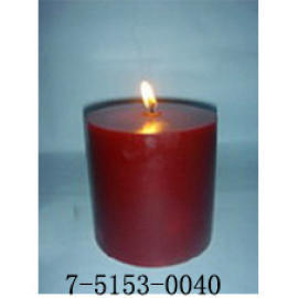 F4*4H    WINE RED CANDLE