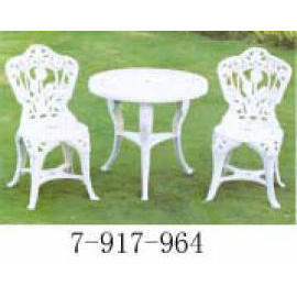 GARDEN SET 1 TABLE+2 CHAIRS (САД SET 1 ТАБЛИЦА 2 СТУЛЬЯ)