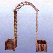 Lattice Archway with Planters (Решетка Арчуэй с Посадочные)