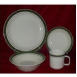 COLOR BANDED DINNER SET (COLOR полосчатых Dinner Set)