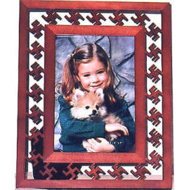 CYPRESS WOOD PHOTO FRAME