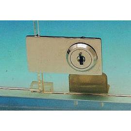 Cabinet swinging glass door lock for double doors (Кабинет размахивая блокировка стеклянных дверей для двойных дверей)