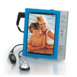 Talking Picture Frame with FM Radio