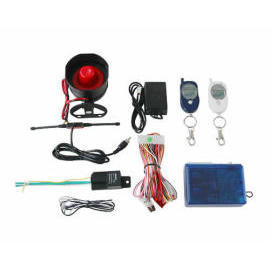 Remote LED car alarm system