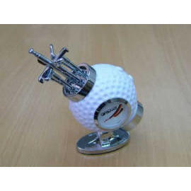 Golf Shaped FM Auot Scan Radios