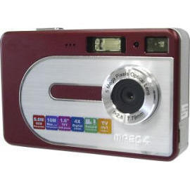 10.0 Mega Pixels Slim Digital Camera
