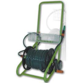 Garden hose trolley