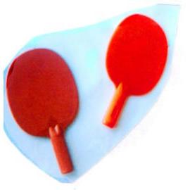 PLASTIC TABLE TENNIS PADDLE