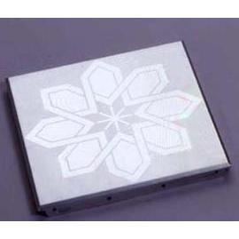 Silver Tile with Islamic Pattern (Серебро плитки с исламским План)