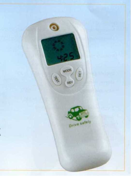 DIGITAL DISPLAY ALCOHOL CONCETRATION TEST METER