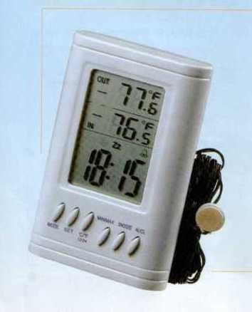 INDOOR/OUTDOOR THERMOMENTER (Indoor / Outdoor THERMOMENTER)