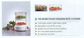 FOOD STEAMER/RICE COOKER