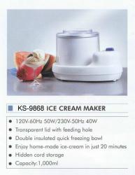 ICE CREAM MAKER (Ice Cream Maker)