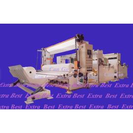 Slitter Rewinder for big diameter roll, JRT, jumbo roll tissue, maxi roll,