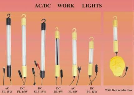 Work Light (AC or DC use)