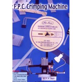 F.P.C. CRIMPING MACHING