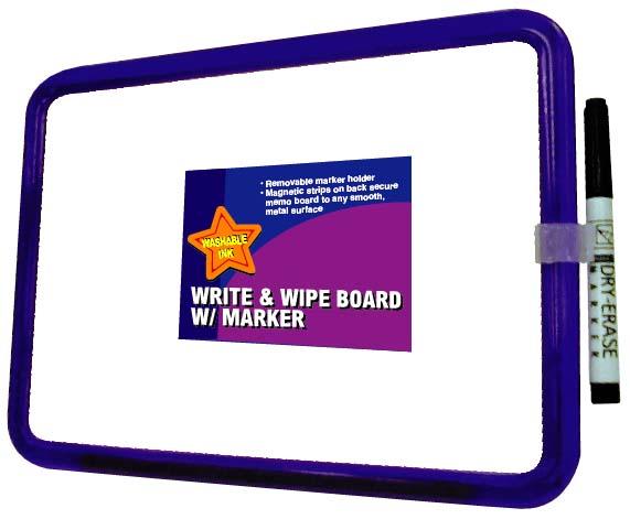 WHITE BOARD W/MARKER & MAGNET (White Board Вт / МАРКЕР & МАГНИТ)