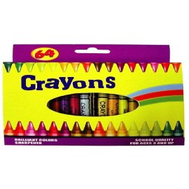 64CT CRAYONS (64CT CRAYONS)