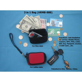 Anti-Radiation Mobile Phone Bag with Wallet