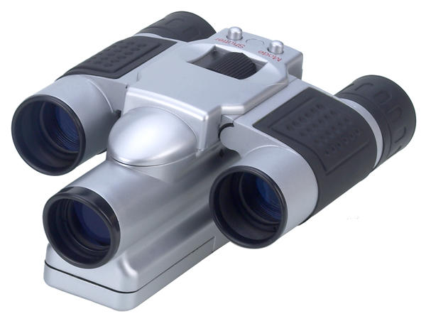 Binocular with digital camera